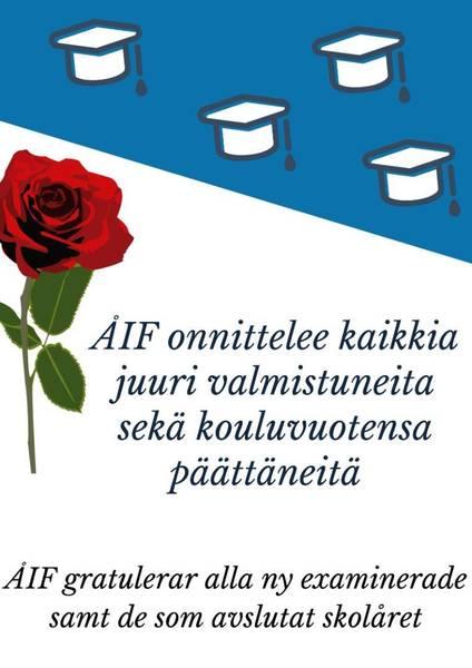 ÅIF onnittelee, ÅIF gratulerar!