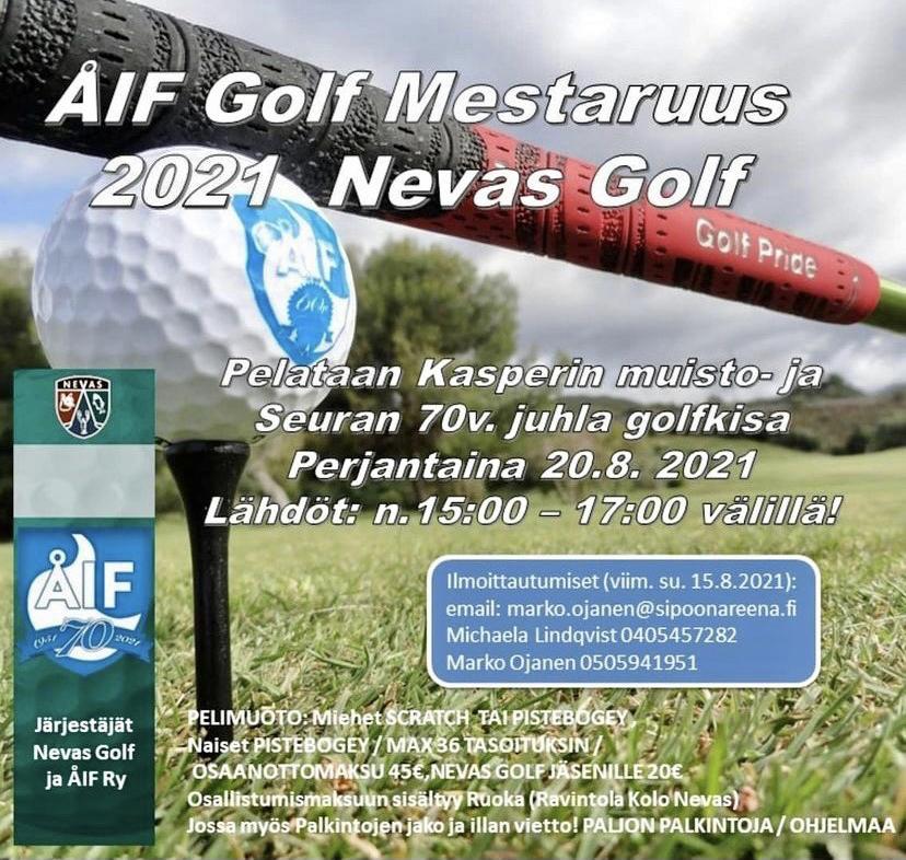ÅIF golf mestaruus