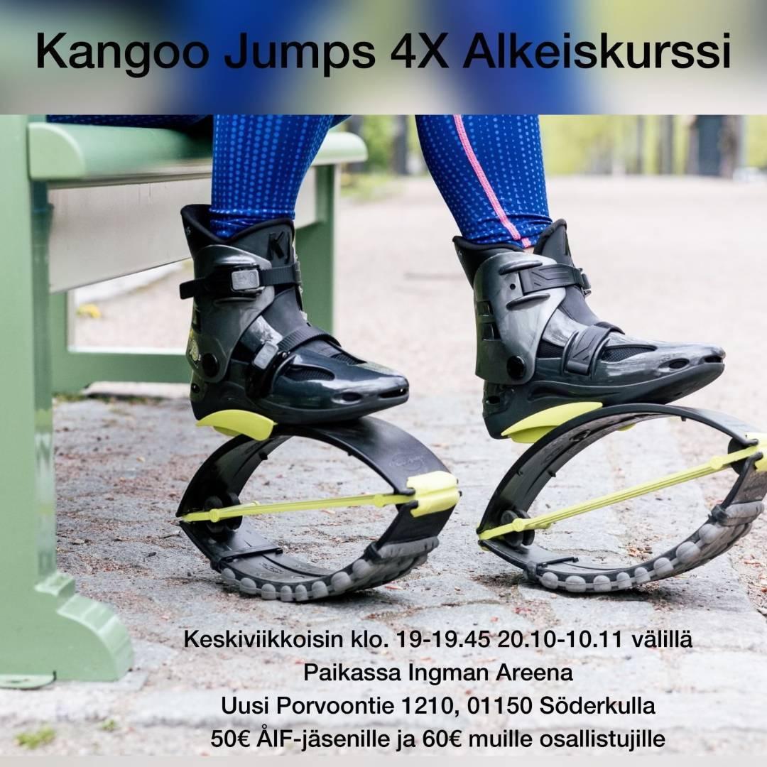 Kangoo Jumps Ingman areenalla
