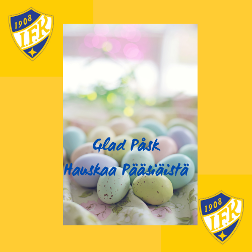 Alla tillönskas en glad och trygg påsk! Turvallista ja iloista pääsiäistä kaikille!