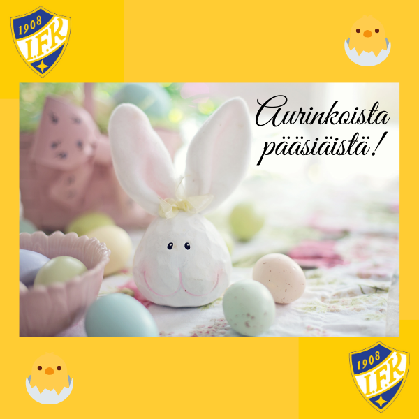 Hauskaa pääsiäistä Glad påsk !