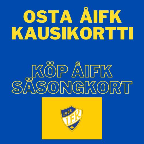 Köp ÅIFK säsongkort / Osta ÅIFK kausikortti