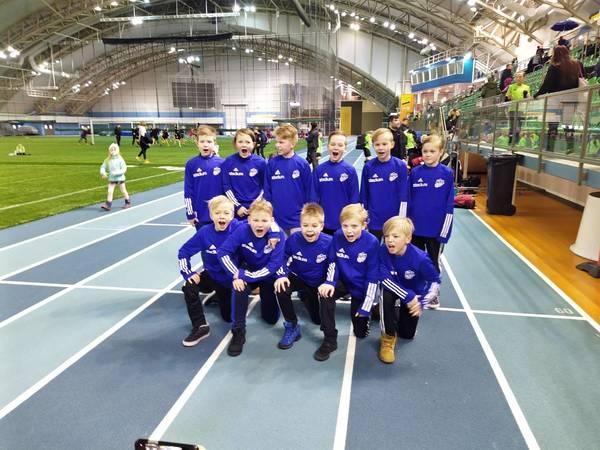 Ajax P09 -joukkue 3. sijalle Kuopiossa