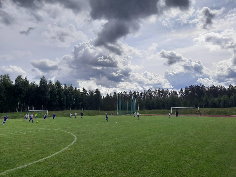 Ajax T10-11 kesäleiri Pyhännällä 2.-4.7.2020