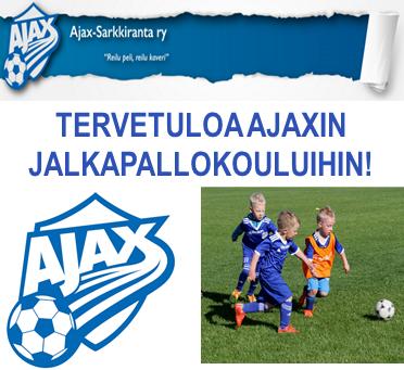 Ajaxin jalkapallokoulu alkaa 1.11.!