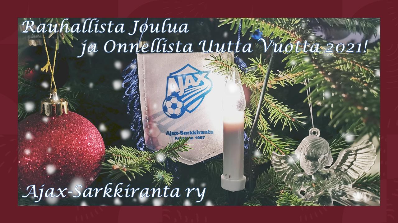 Ajax-Sarkkiranta joulunviettoon!