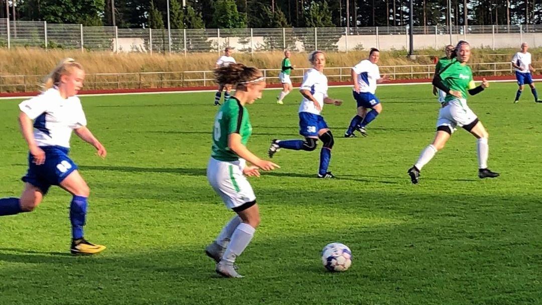 EIF damer spelade oavgjort mot LoPa