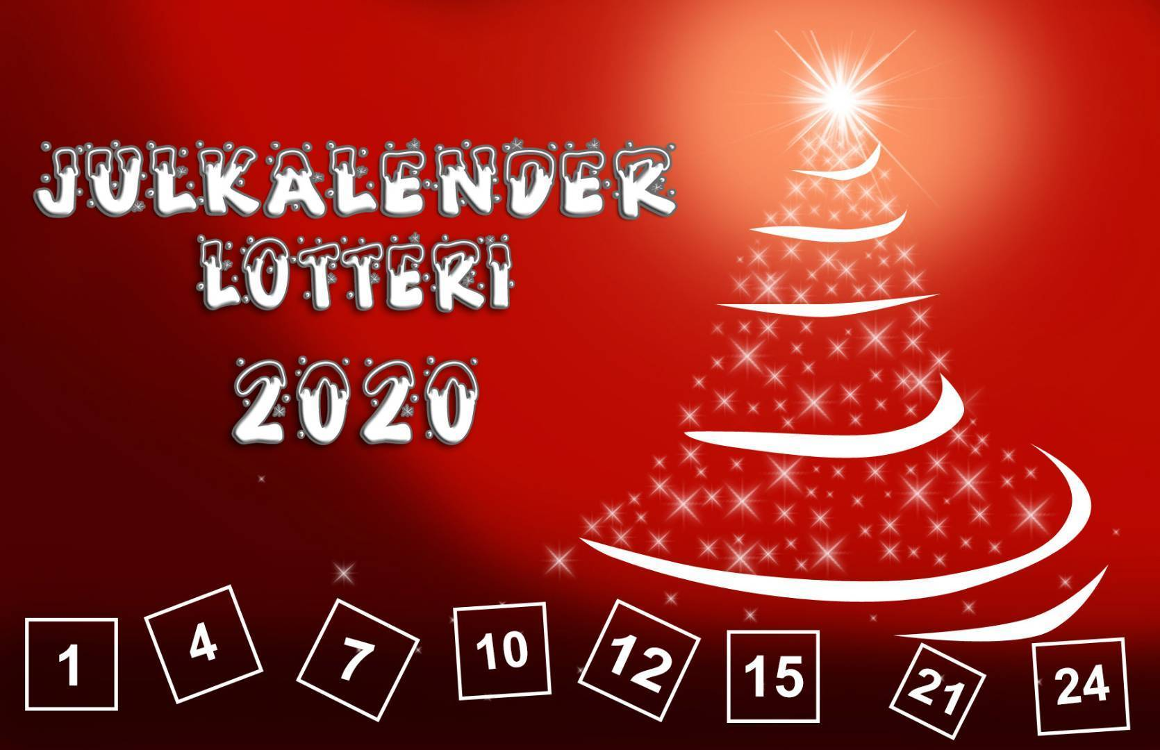 Julkalenderlotteri 2020