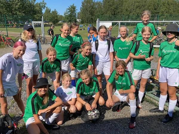 Flickor 08/09 deltar i Wasa Footballcup