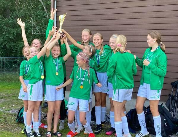 Flickor 08/09 vann Lohja cup!
