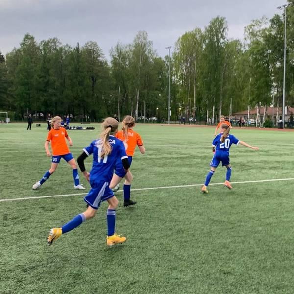 EBK T09 Akatemia 1 aloitti eteläisen T12 ykkössarjan pelit PPJ:tä vastaan 25.5.2021.