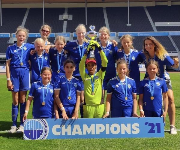 Akatemia 2 Helsinki Cup yleissarjan voittoon