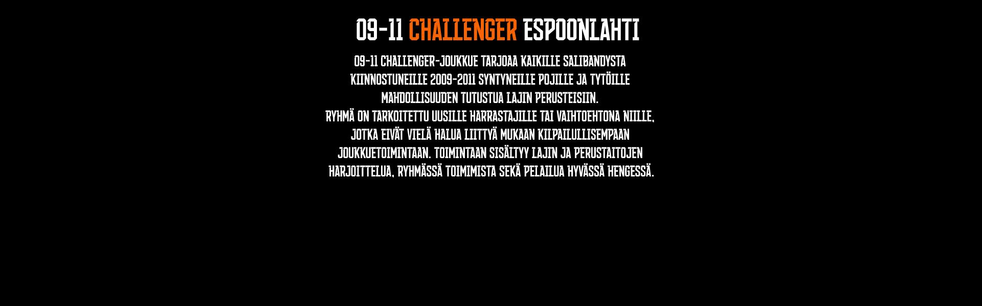 09-11 CHALLENGER ESPOONLAHTI