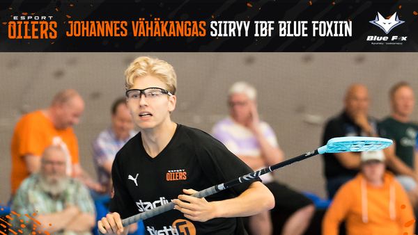 Johannes Vähäkangas siirtyy IBF Blue Foxiin