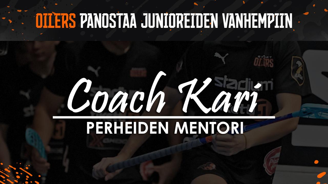 Esport Oilers panostaa junioreiden vanhempiin Kari Helanderin mentorointipilotin myötä!