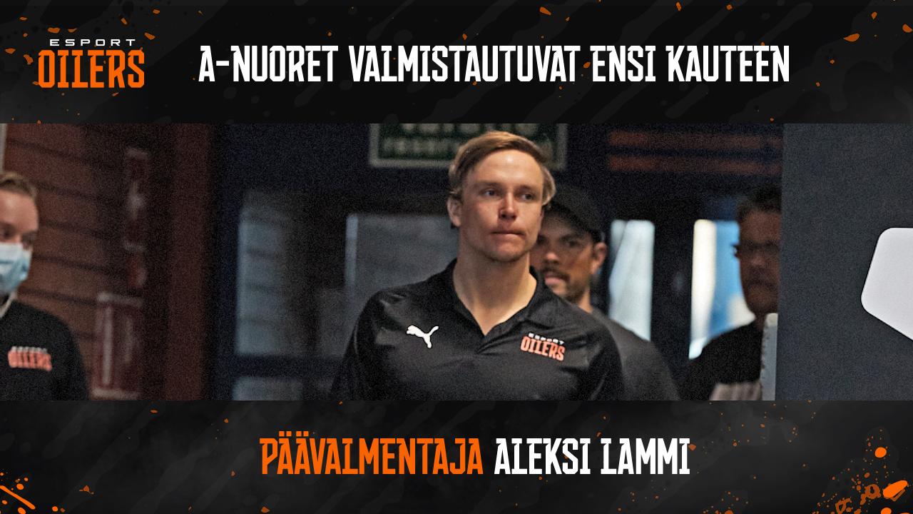 Esport Oilersin uusi ASM/Suomisarjan joukkue valmistautuu jo seuraavaan kauteen