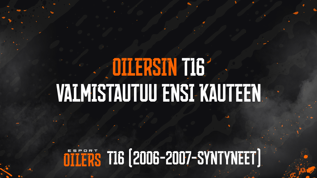 Oilersin T16 valmistautuu kauteen 2021–22