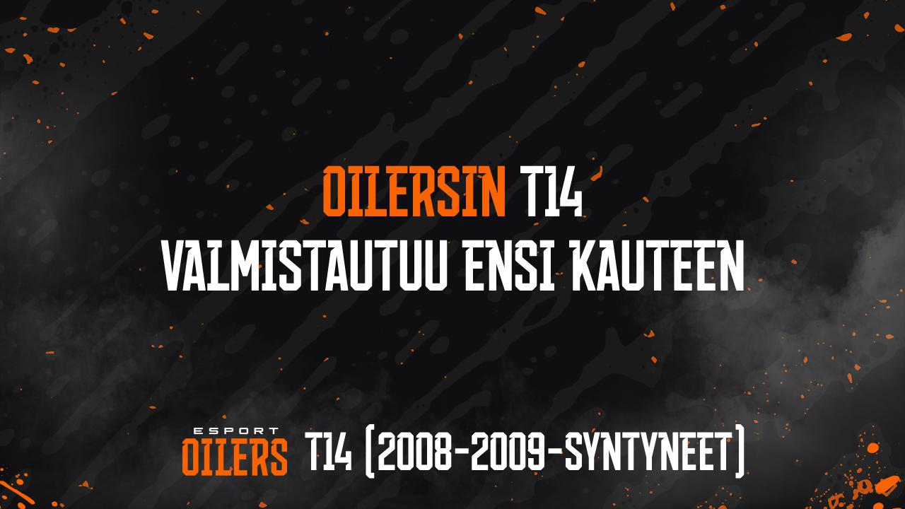 Oilersin T14 valmistautuu kauteen 2021–22.