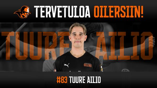Tuure Ailio siirtyy Oilersiin!