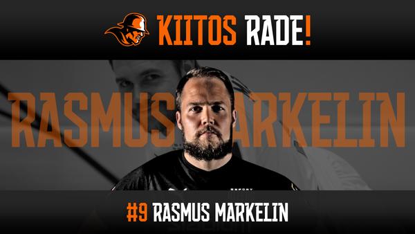 Kiitos Rade! Aina Oilersia edustanut seuraikoni Rasmus Markelin lopettaa pelaajauransa