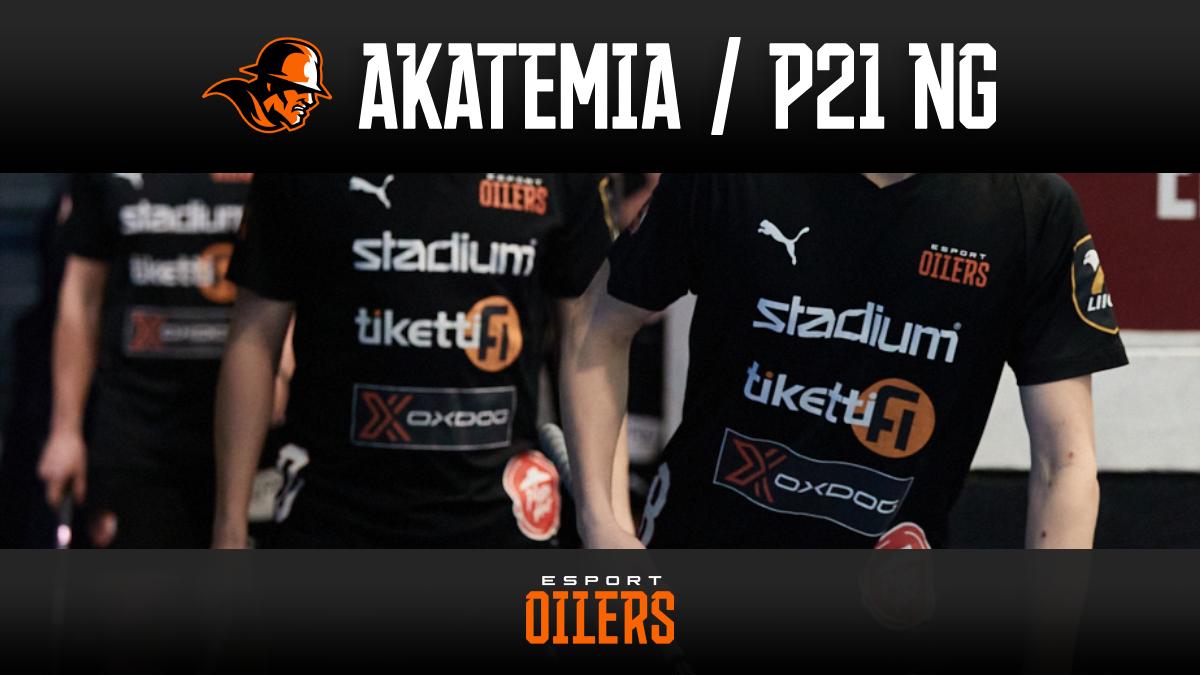 Oilersin Akatemia / P21 NG-yhdistelmäjoukkue kaudelle 2021-22