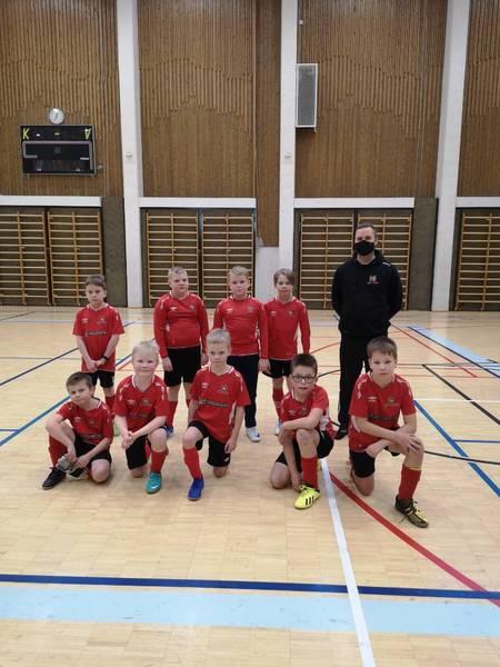 P11- ja P10 -yhteisjoukkueen harjoituspeli Haapajärvellä 6.2.2021