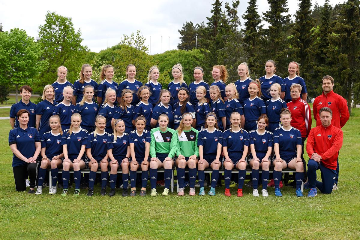 FC Halikko B-tytöt