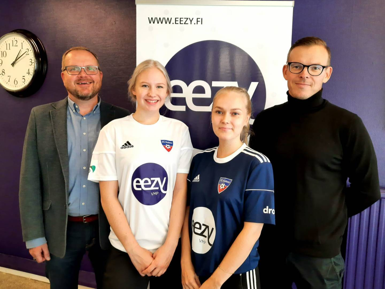 Naisten Futsal-Liiga joukkueen pääsponsoriksi Eezy VMP Salo