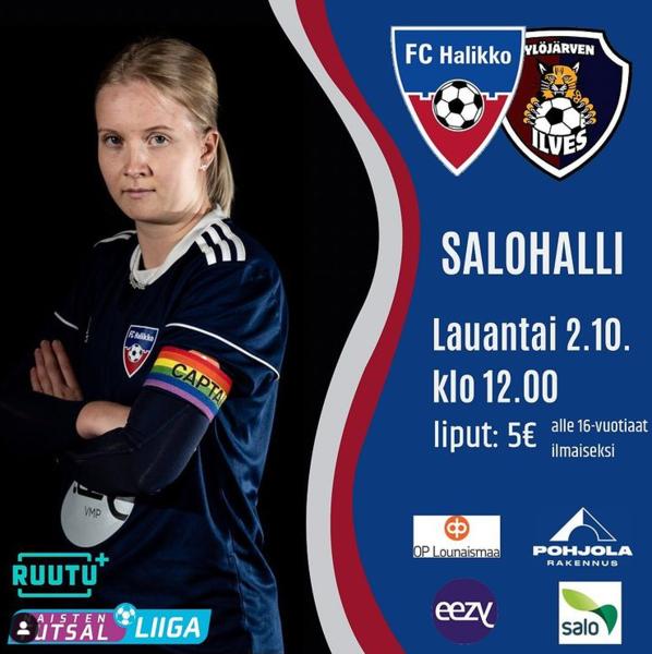 Otteluennakko 2.10: FC Halikko - Ylöjärven Ilves