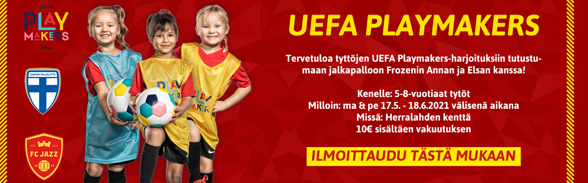 UEFA Playmakers alkaa!