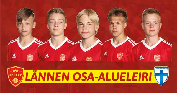 FC Jazzista vahva edustus 06-ikäluokan lännen alueleirillä!