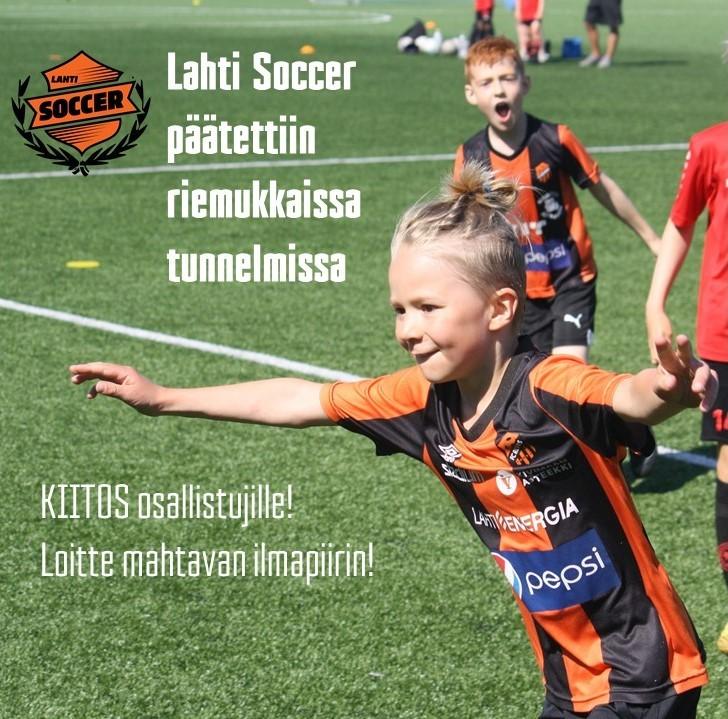 Lahti Soccer päätettiin riemukkaissa tunnelmissa