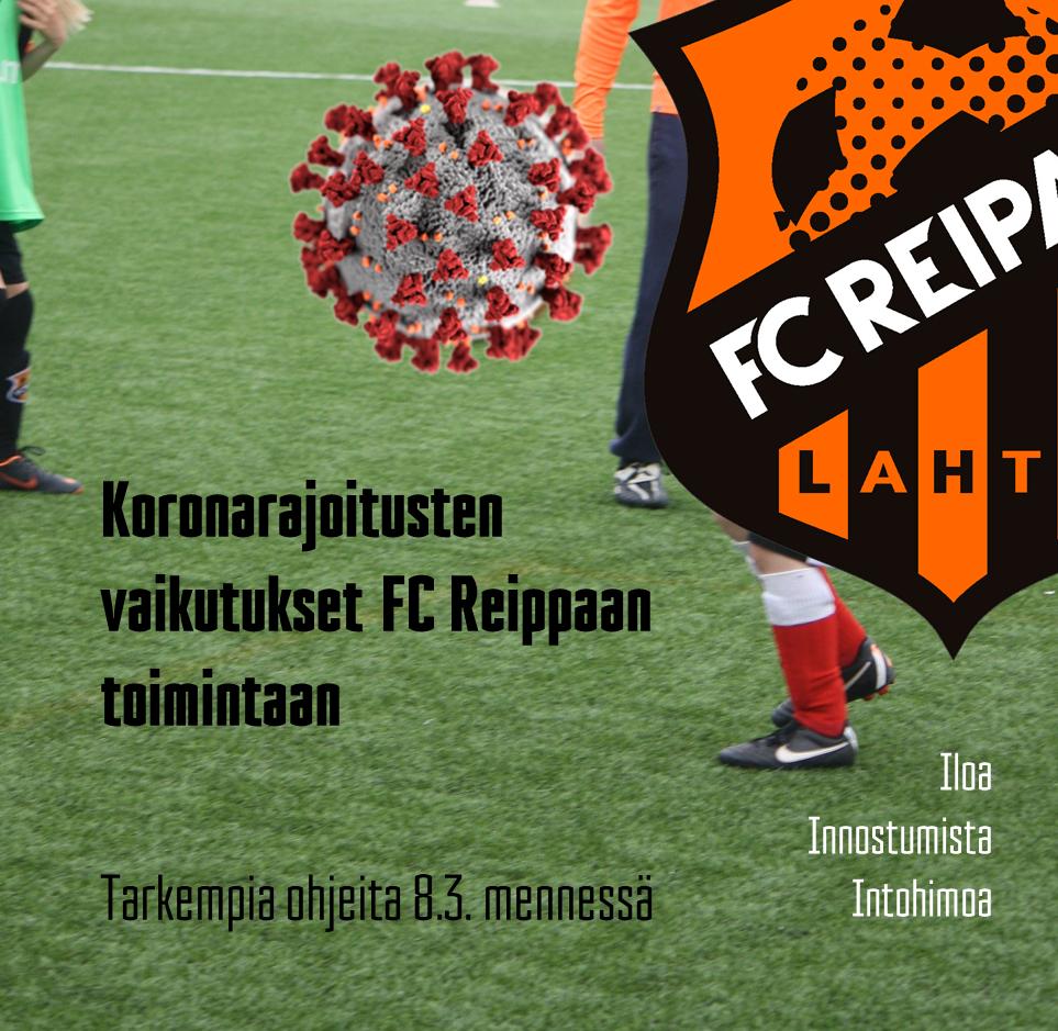 Koronarajoitusten vaikutukset FC Reippaan toimintaan