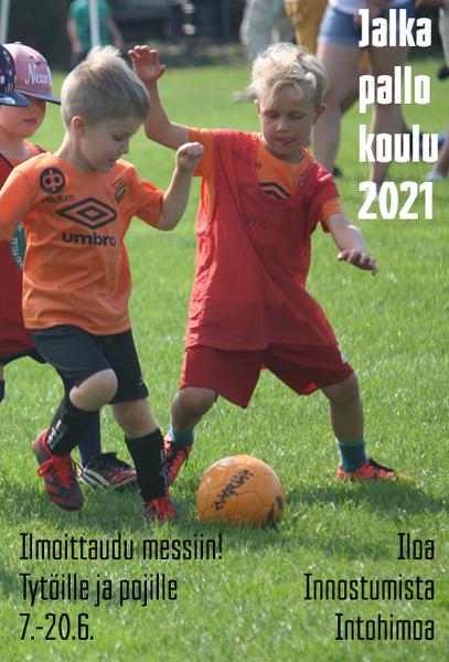 Jalkapallokoulu 2021