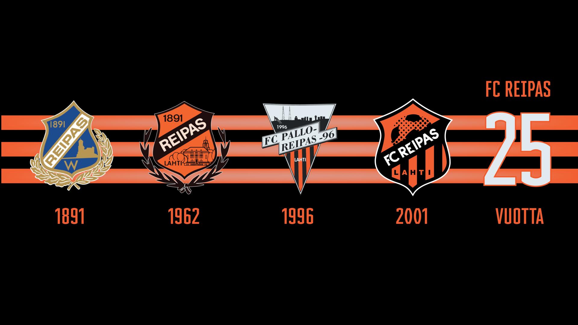 FC Reipas 25 vuotta