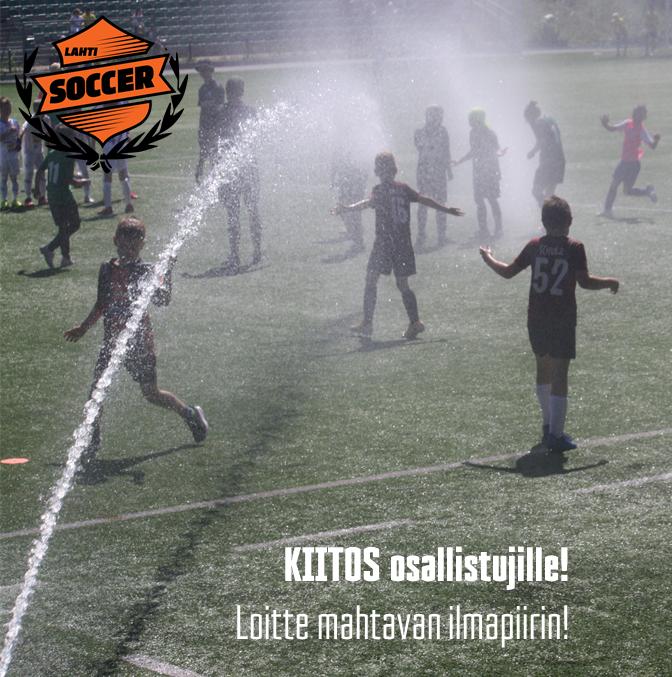 Helteinen Lahti Soccer saatiin päätökseen