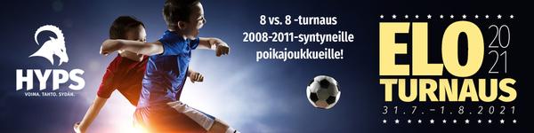 Eloturnaus Hyvinkäällä 31.7. - 1.8. 2021
