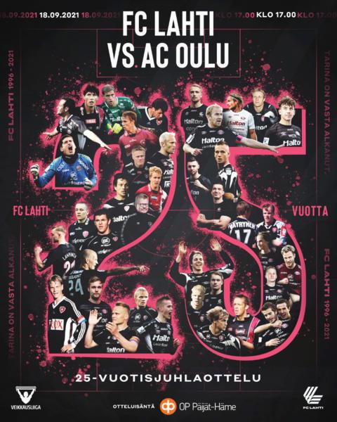 FC Lahti 25 vuotta