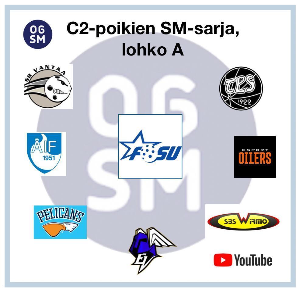 C2 poikien SM-sarjan alku sujui yli odotusten