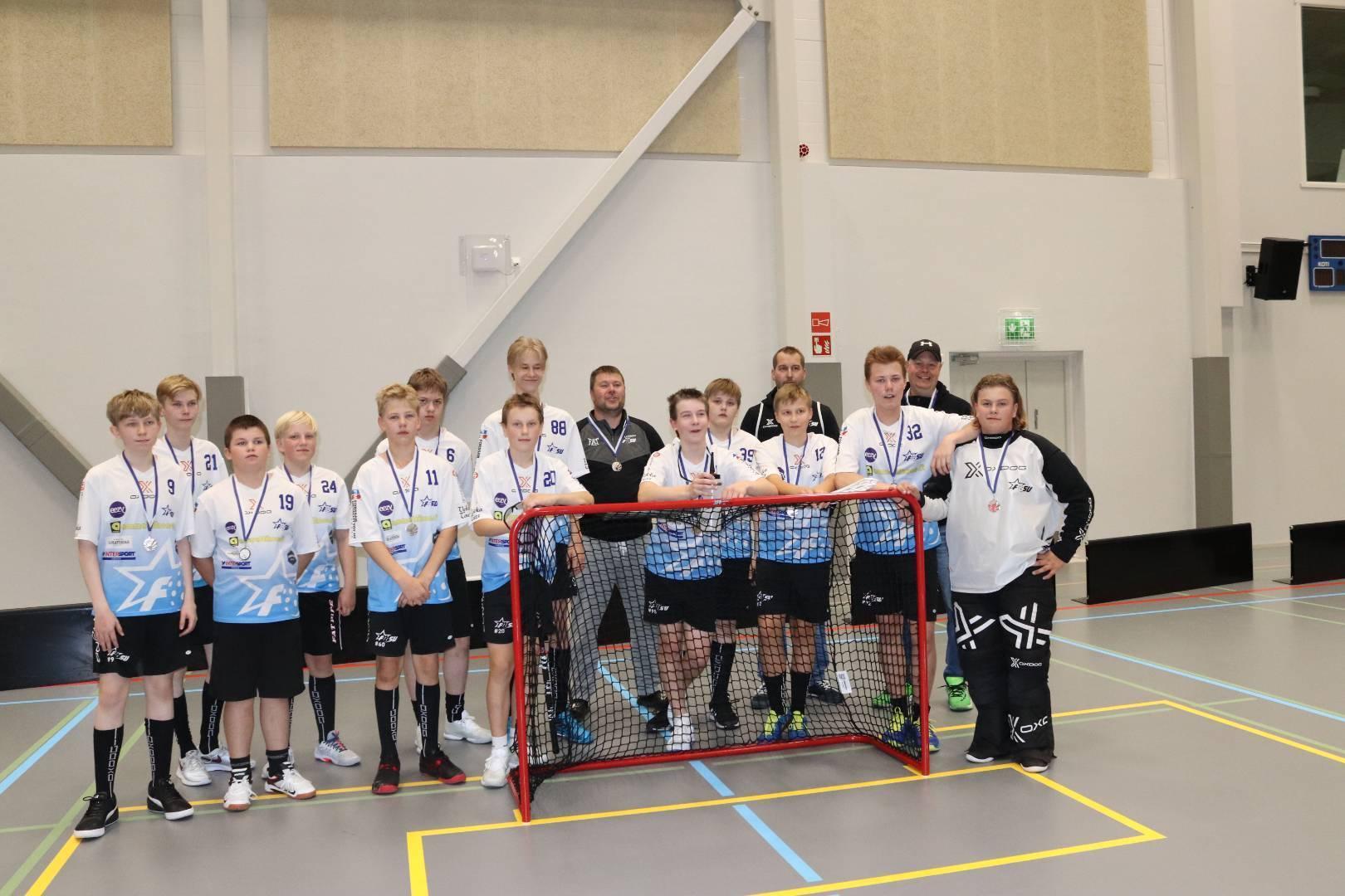 P15-pojat toivat hopeaa kotiin JFT-turnauksesta