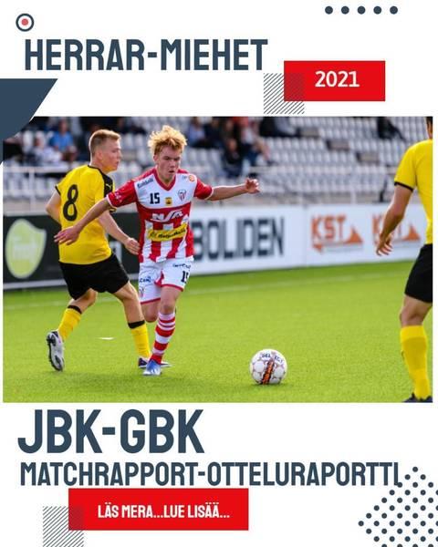 JBK - GBK 0-1 (0-1) - Elmeri Lahti