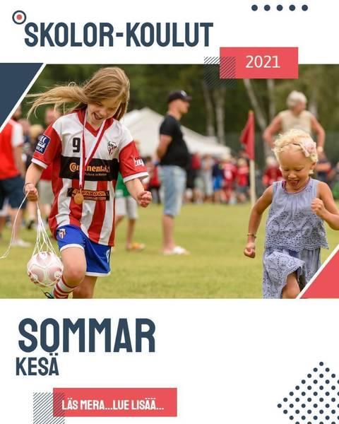 Kesän jalkapallokoulu 7.-9.6.2021 / Sommarens fotbollsskola 7.-9.6.2021