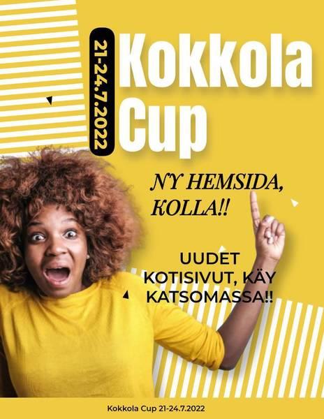 Kokkola Cup publicerade ny hemsida!!