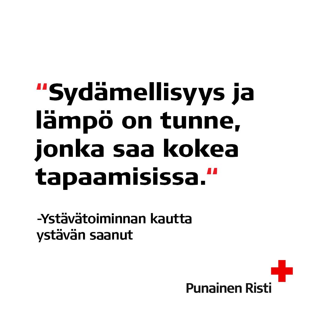 Suomen Punainen Risti ja Happee ry yhteistyöhön