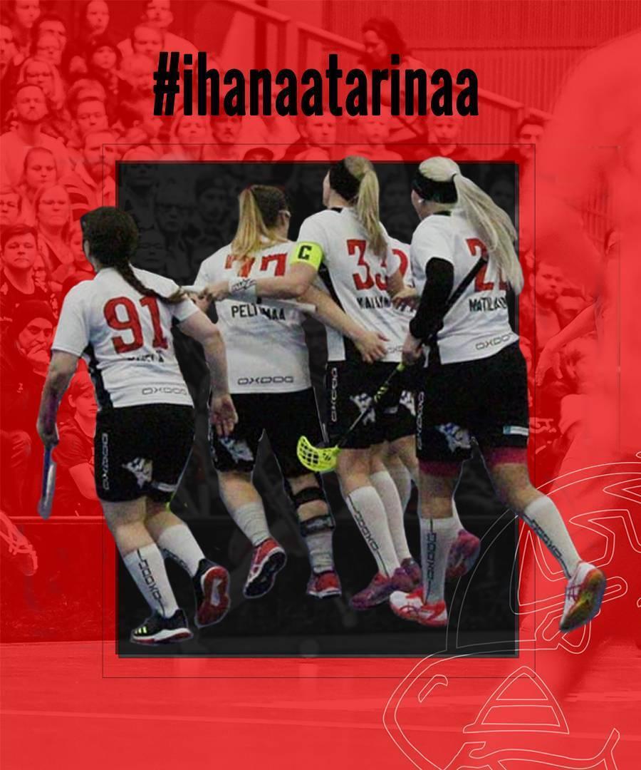 Haluatko mukaan kirjoittamaan #ihanaatarinaa naisten joukkueeseen?