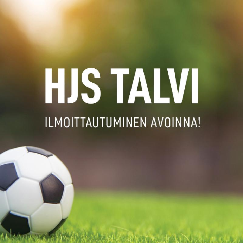 HJS Talvi 2020-2021 -ilmoittautuminen on avattu!