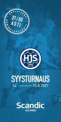 HJS Syysturnaus 14.-15.8.2021