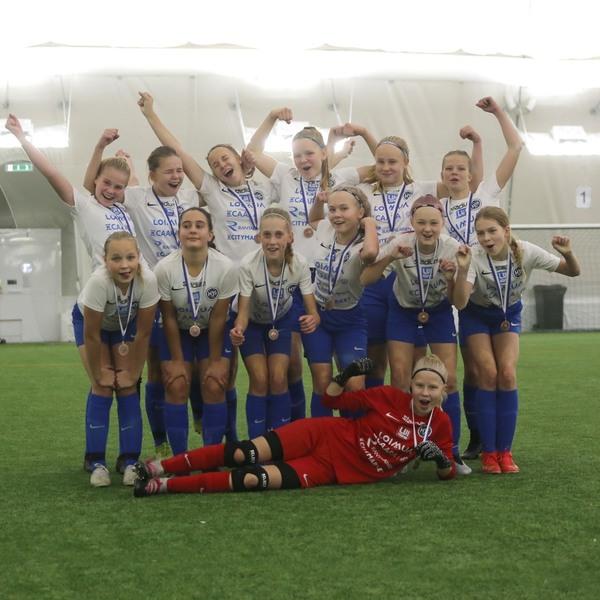 HJS:n D-tytöille SM-pronssia Kuopion turnauksessa
