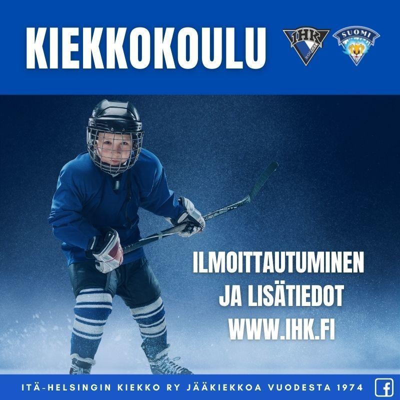 IHK Kiekkokoulu starttaa 4.9.2021