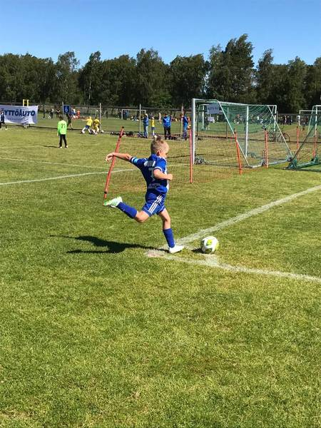 Matchprogram för Juniorcupen